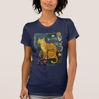 RockStar, t-shirt do gato dos grafites Camiseta