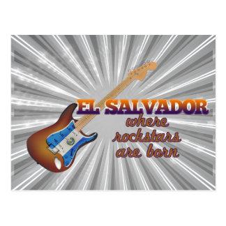 Rockstars é nascido em El Salvador Cartões Postais