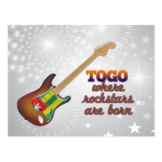 Rockstars é nascido em Togo Cartão Postal