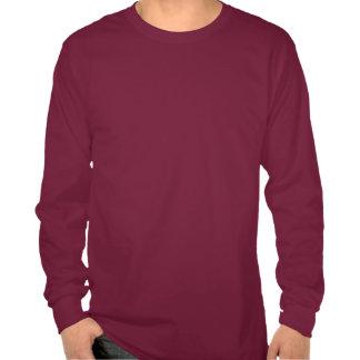 Rockwall Pets a rocha no t-shirt da Longo-Luva dos