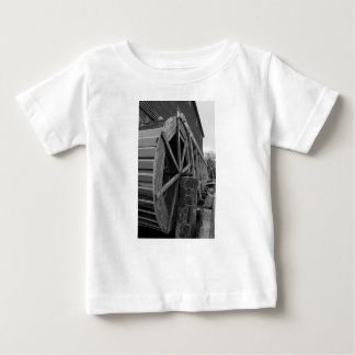 Roda de água de Edwards Camiseta Para Bebê