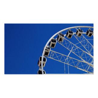 Roda de Ferris de Cape Town Modelo Cartao De Visita