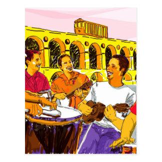 Roda de Samba - Rio de Janeiro - Brasil Cartão Postal