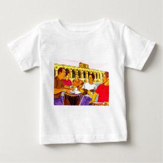 Roda de SambaFIM - Rio de Janeiro - Brasil Camiseta Para Bebê