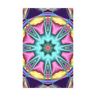 Roda do impressão das canvas dos sonhos impressão de canvas envolvida