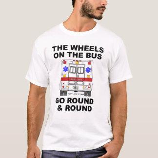 Rodas no ônibus - camisa da ambulância