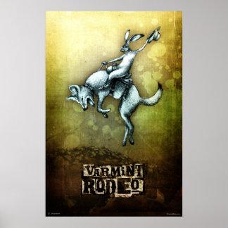 Rodeio de Varmint Poster