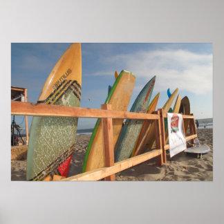 Rodeio do conselho de surf pôster