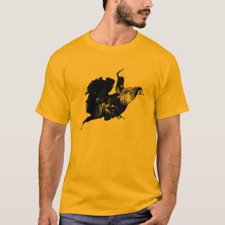 Rodeio do galo camiseta