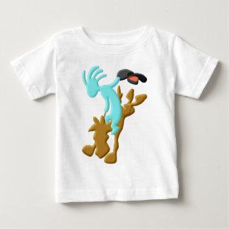 Rodeio do nativo americano de Kokopelli Camiseta Para Bebê