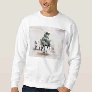 Rodeio - exposição dobro - vaqueiro - vaqueiro do moletom