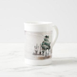 Rodeio - exposição dobro - vaqueiro - vaqueiro do xícara de chá