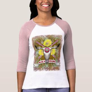 RODEIO SANTAMENTE da VAQUEIRA ocidental Camiseta