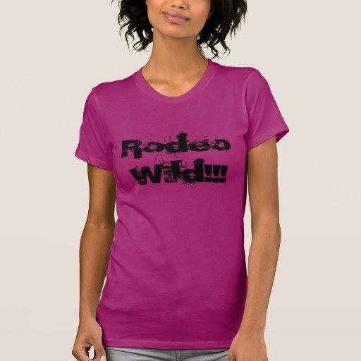 Rodeio selvagem!!! camisetas