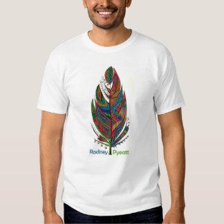 Rodney Pyeatt - t-shirt da pena da boa sorte