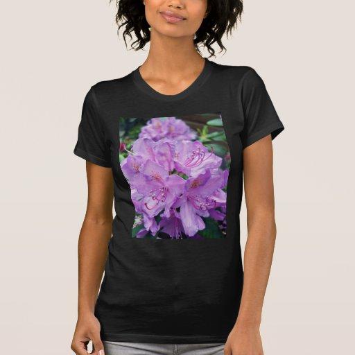 Rododendro malva t-shirts
