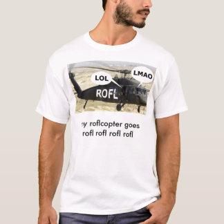 roflcopter camiseta