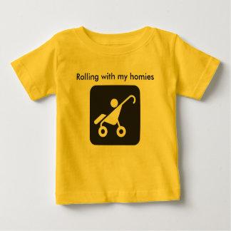 Rolamento com minha camisa dos homies