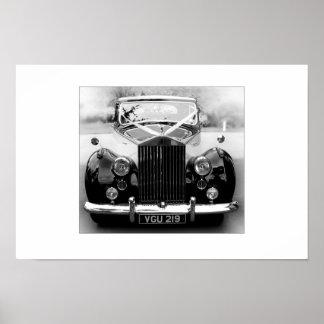 Rolls Royce que Wedding o carro Impressão