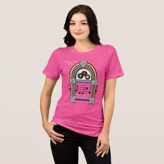 Rolo Babee da rocha n - t-shirt das senhoras Camiseta