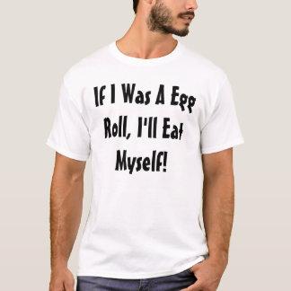Rolo de ovo camiseta