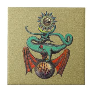 Rolo de Ripley Azulejo Quadrado Pequeno