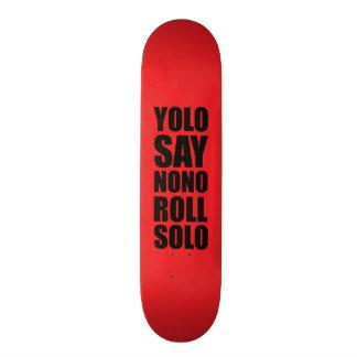 Rolo de YOLO de solo Skates Personalizados