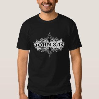 ROLOS BLKT DO 3:16 DE JOHN T-SHIRT