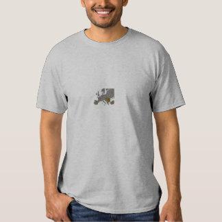 ROM em toda parte Camisetas
