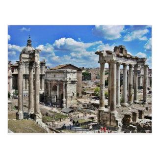 Roma antiga cartão postal