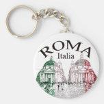 Roma carimbou chaveiros