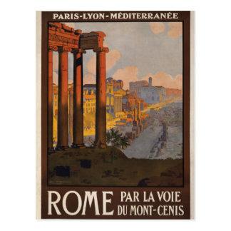 Roma com o Mont-Cenis Cartao Postal