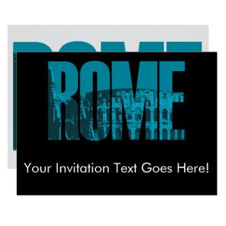 Roma Convite 12.7 X 17.78cm
