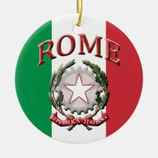 Roma Italia Ornamento De Cerâmica Redondo