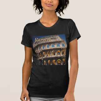 Roma na noite camisetas