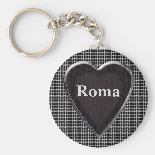 Roma roubou meu chaveiro do coração