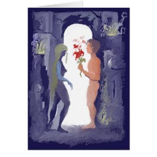** Romance ** Cartão Comemorativo