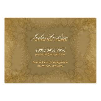 Romance do laço com o cartão de grande negócio do cartão de visita grande