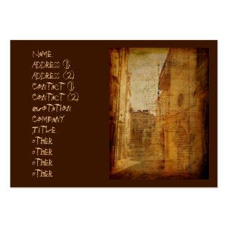 Romance na pedra cartão de visita grande