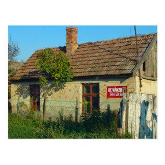 Romania, casa da vila para a venda cartao postal
