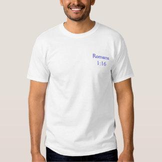 Romans1: 16 camisetas