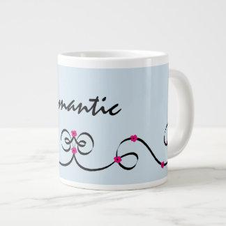 romântico caneca de café grande