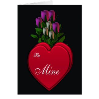 Romântico Cartão Comemorativo