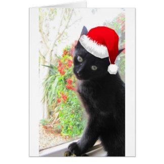 Romeo no Natal Cartão