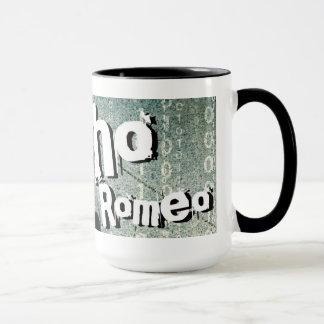 Romeo psicótico 15 onças. Caneca do envoltório