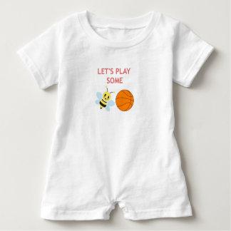 Romper da bola da abelha t-shirt