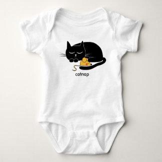 Romper engraçado do bebê do gato e do rato do body para bebê