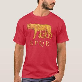 Romulus, Remus, e t-shirt romanos do gráfico do Camiseta