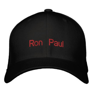 Ron Paul 2012 chapéus Boné Bordado