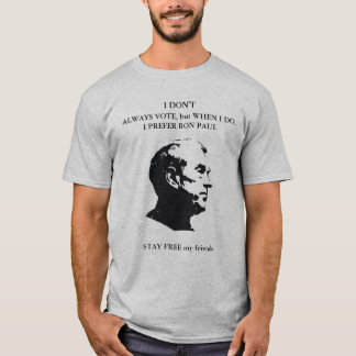 Ron Paul Camiseta